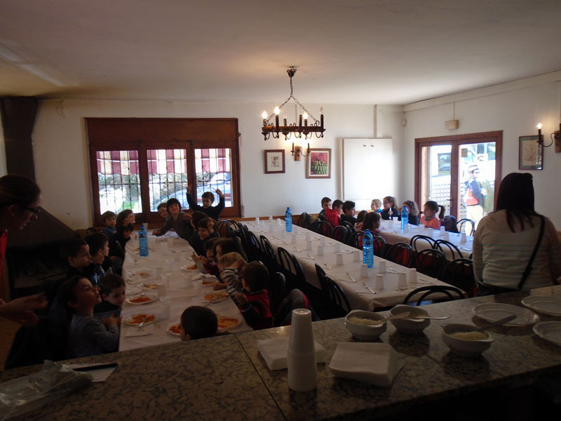menjador infantil a Can Castellví